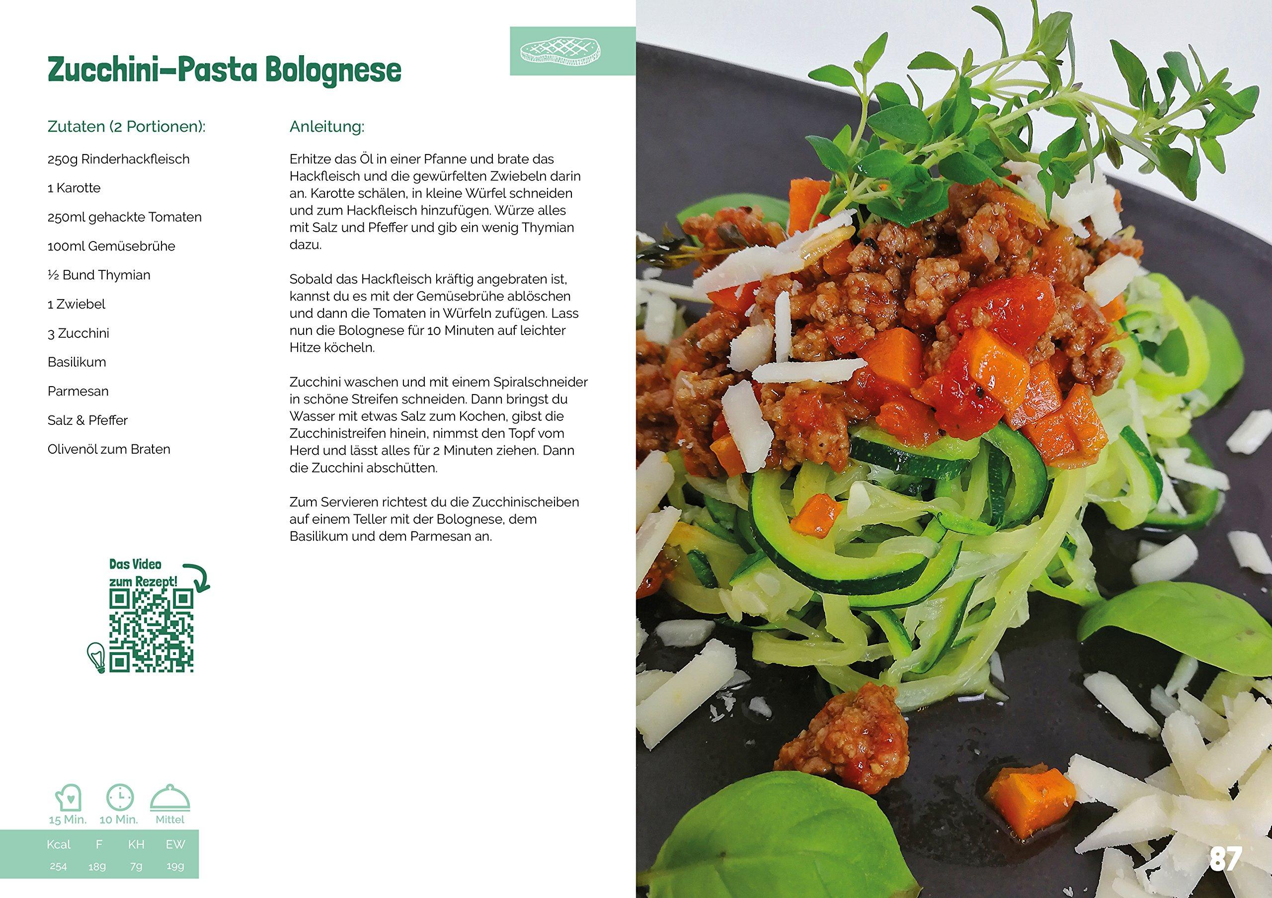 Low Carb einfach & lecker abnehmen: Fit, gesund & schlank essen. 66 köstliche und kreative Rezepte (Deutsch) Taschenbuch
