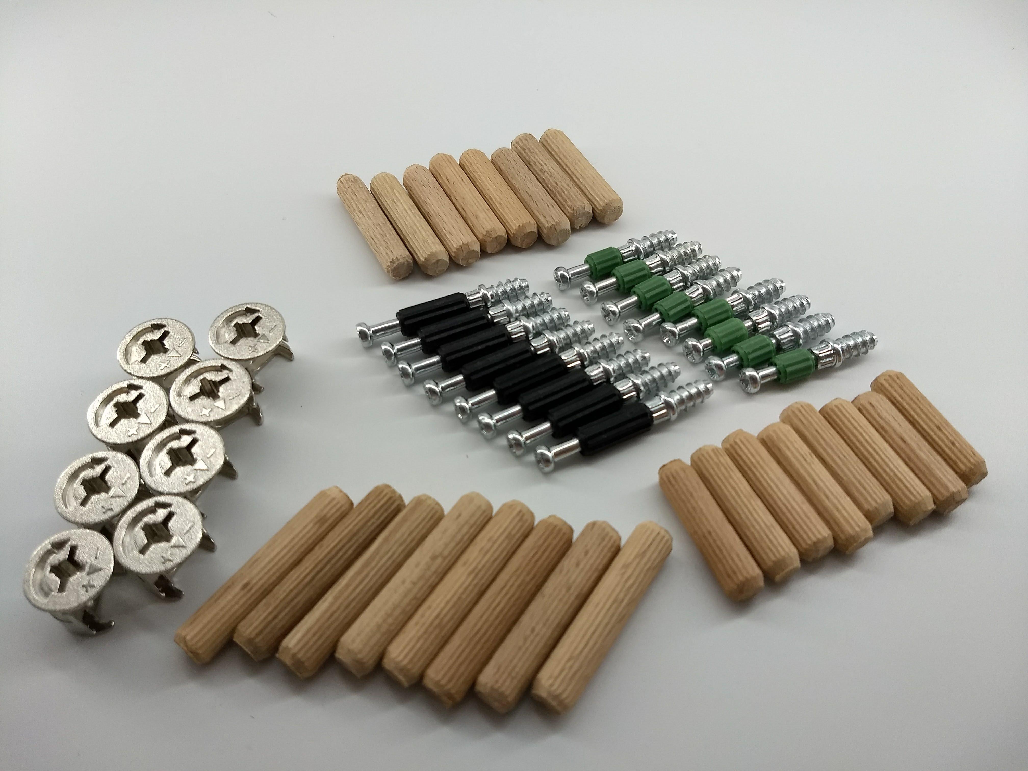 Schrank-Verbinder Möbel-Verbinder Set - Ersatzteilen, PROFESSIONELL