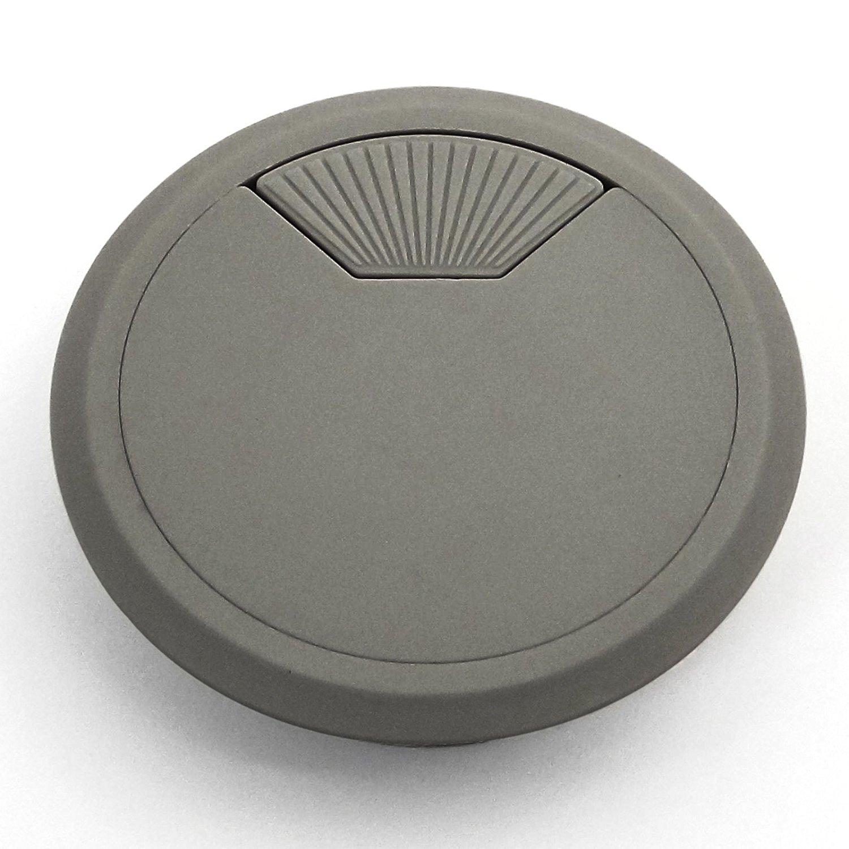 Kabeldurchlass 60 mm Grau Kunststoff