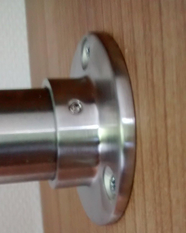 2000 mm / 200 cm Kleiderstange aus V2A Edelstahl