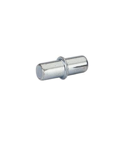 Bodenträger Duplo mit Rand für 5mm Lochreihe Stahl chromatiert , 500 Stück