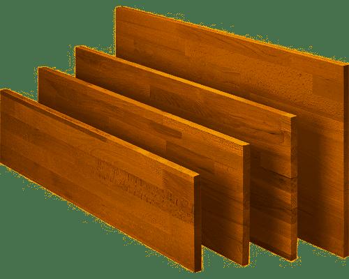 1Stck. BUCHE 800x200x18mm Leimholzplatte Leimholz Holzboden keilgezinkte Lamellen