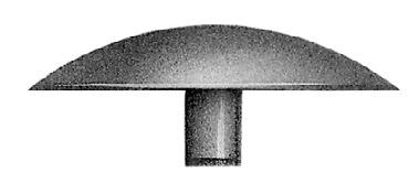 10 Stück Schraubenabdeckung Abdeckkappe Abdeckstopfen aus Kunststoff für Holz Spannplatten-Schrauben